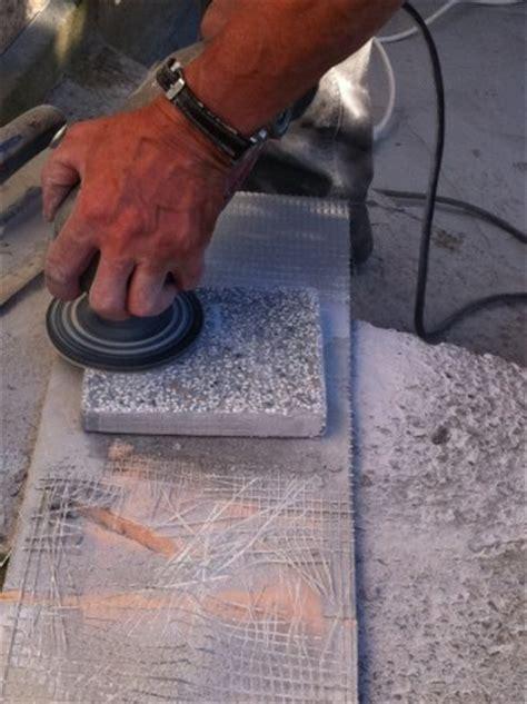 Gespachtelte Wände Schleifen Körnung by Terrazzo Muster