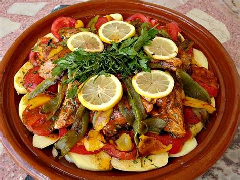 Check spelling or type a new query. Moroccan Fish Tagine (Mqualli) Recipe