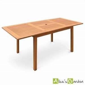 Table Ronde Ou Rectangulaire : table de jardin en bois almeria 120 180cm rectangu meubles appartement pinterest ~ Melissatoandfro.com Idées de Décoration