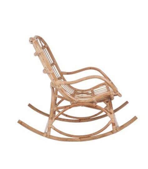 rocking chair en rotin fauteuil 224 bascule rocking chair en rotin naturel wadiga