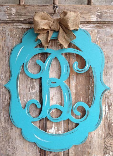 item  unavailable etsy monogram door decor door decorations painted wood letters