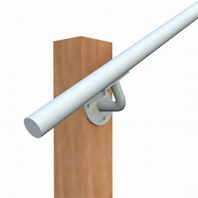 Wall Railing Mounted Stair Handrail Mount End
