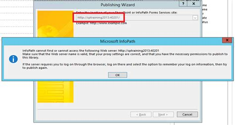 how to publish infopath form in sharepoint 2010 cannot publish infopath form in sharepoint 2013 sharepoint stack exchange