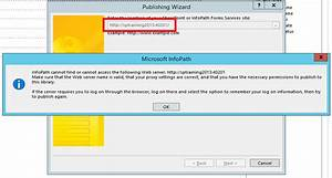 cannot publish infopath form in sharepoint 2013 With document library infopath form