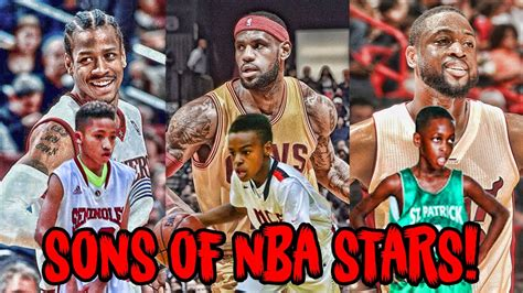 5 Sons of NBA LEGENDS Who Play Just Like Their Dads! - YouTube