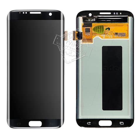 b grade lcd screen touch digitizer assembly for samsung galaxy s7 edge black ebay