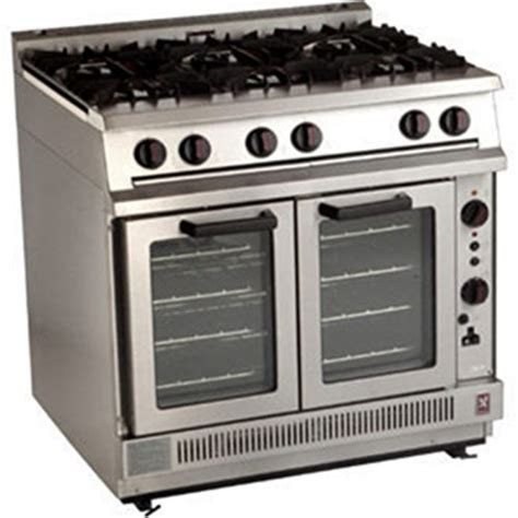Falcon Dominator Heavy Duty 6 Burner Convection Natural