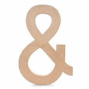 large 235 inch paper mache ampersand paper mache letters With 23 5 inch paper mache letters
