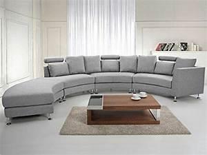 Canapé De Salon : le canap d 39 angle arrondi comment choisir la meilleure variante pour votre salon ~ Teatrodelosmanantiales.com Idées de Décoration