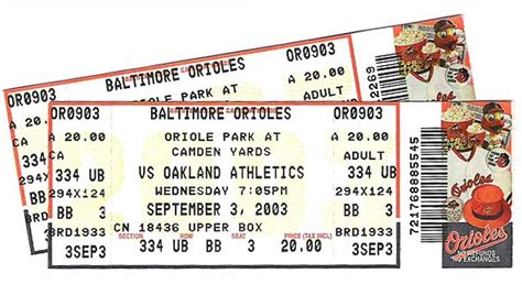 baseball ticket the rokkor files an american journey