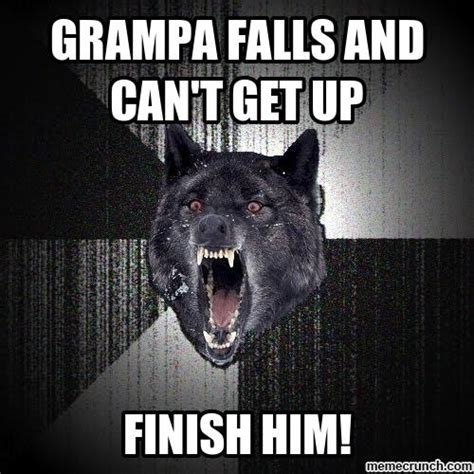 Wolf Meme - courage wolf meme blank