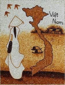 Vietnamese Rice Grain Painting