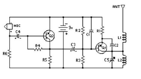 Easy Build Transmitter Circuit Schematic