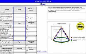 Kegel Online Berechnen : modell u u boot stereometrie ~ Themetempest.com Abrechnung