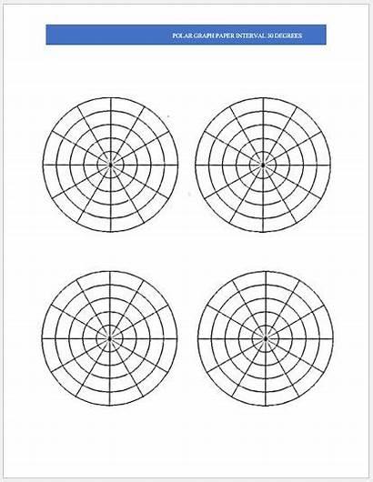 Polar Graph Paper Word Per Ms Templates