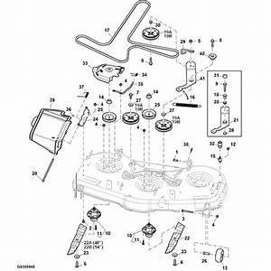 35 John Deere 54 Inch Mower Deck Belt Diagram