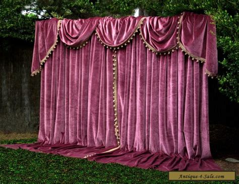 cheap swag ls for sale paris apt german velvet vintage curtains swags tails