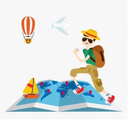 Travel Clipart Background Transparent Traveling Kindpng