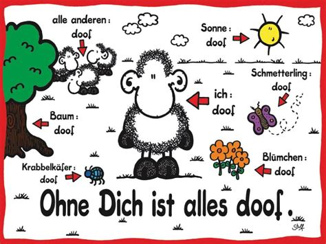 ohne dich ist alles doof wise words german quotes