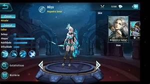 Mobile Legends 5v5 MOBA Jogando Com A Heroina Miya