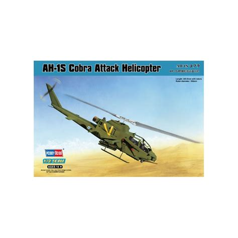 Ah-1s Cobra Attack Helicopter Kit
