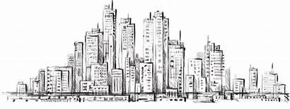 Line Cityscape Skyline Drawing Sketch Picsart Horizon