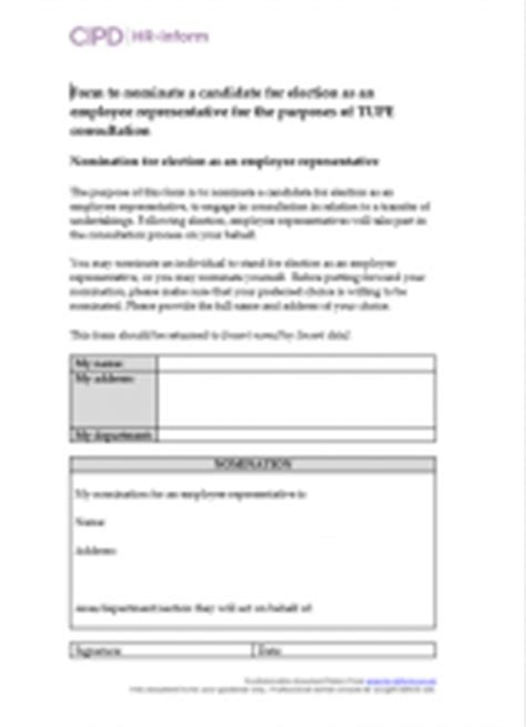 Tupe Process Plan Template by Managing Tupe Cipd Hr Inform