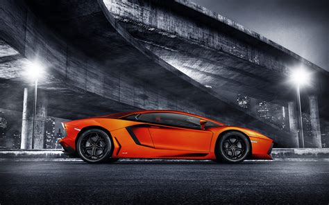 Lamborghini Aventador Sports Car Wallpapers