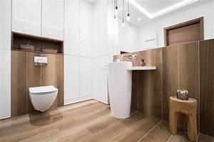 Carrelage Imitation Bois Salle De Bain : bien choisir son sol de salle de bain bienchezmoi ~ Melissatoandfro.com Idées de Décoration