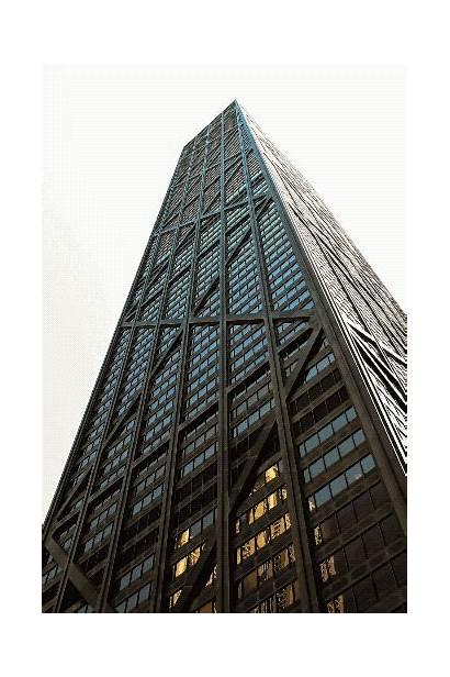 Tower Hancock Chicago Buildings John Hidden Engineering