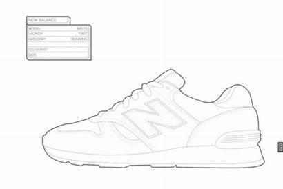 Coloring Sneaker Sneakers Kidrobot Sociable Newbalance