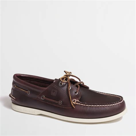 J Crew Boat Shoes by J Crew Sperry Topsider For Authentic Original 3eye Boat