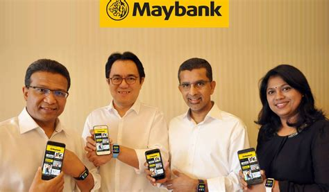 Maybank Pioneers Biometric Authentication For Mobile
