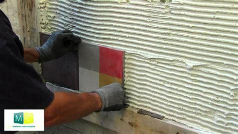 pose carrelage mosaique mural pose carrelage carreau ciment mosa 239 que murale
