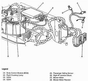 Chevy Malibu 2000 Heater A  C Blower Doesn U0026 39 T Work On 2