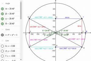 Winkel Mit Sinus Berechnen : sinus und kosinus f r winkel zwischen 0 und 360 geogebra ~ Themetempest.com Abrechnung