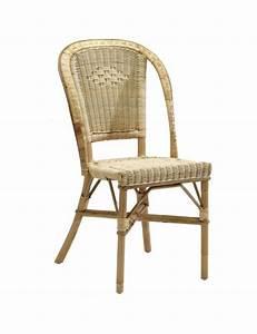 Siege En Rotin : chaise rotin naturel albertine ~ Teatrodelosmanantiales.com Idées de Décoration