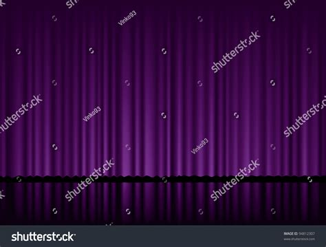 Vector Background Purple Velvet Curtain Stock Vector Copper Shower Curtain Sets With Valance Modern Design Tuscan Stall Size And Liner Set Black Lace Zigzag
