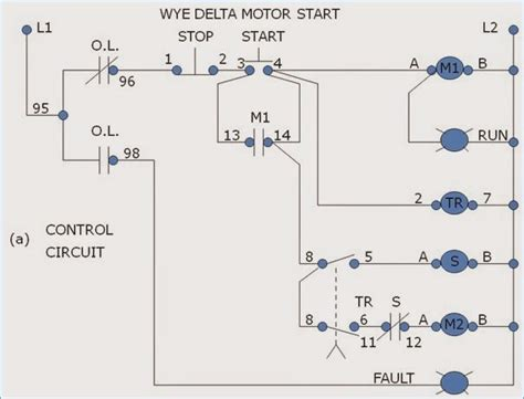 Starter Wiring Connection Diagram by Delta Wye Motor Connection Diagram Impremedia Net