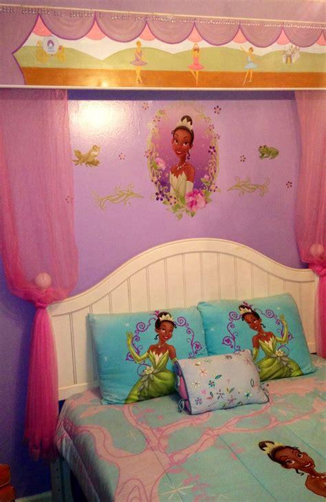 disneys princess tiana themed bedroom home decor