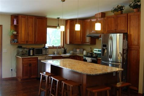 kitchen with walnut cabinets walnut kitchen cabinets from gec cabinet depot 6559