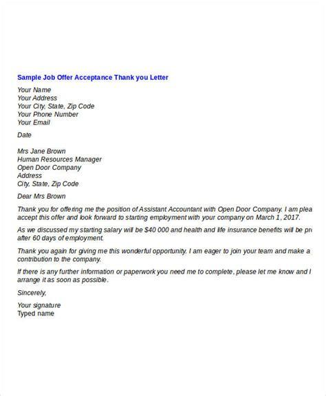 sle job offer acceptance letter pdf docoments ojazlink thank you letter after job acceptance docoments ojazlink