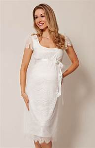 Flutter maternity dress ivory maternity wedding dresses for Maternity dresses for wedding