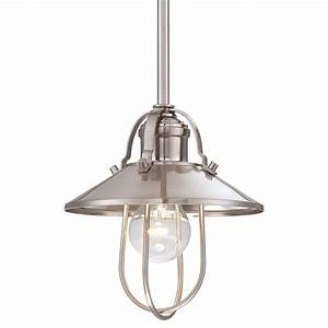 Minka lavery brushed nickel light quot height