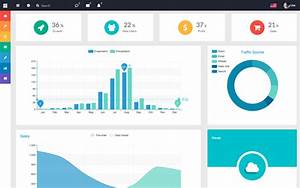 Flatify Responsive Admin Web App Website Templates