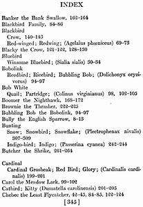 Book Index Page