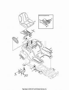 Troy Bilt 13wq92kp066 Tb2450  2011  Parts Diagram For Seat