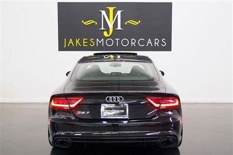 2014 Audi Rs7, Phantom Black On Black, Only 9800 Miles