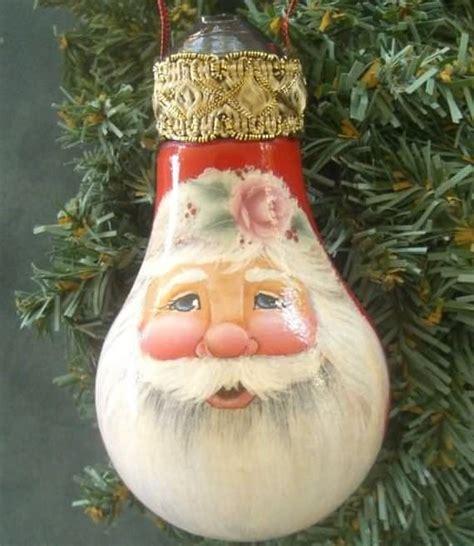 diy christmas ornaments made from light bulbs 4 ur break