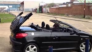 Peugeot 206 Cc : peugeot 206 cc taking down the roof youtube ~ Medecine-chirurgie-esthetiques.com Avis de Voitures